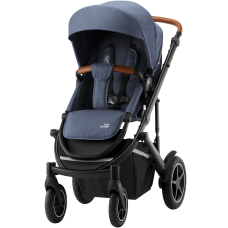Детская прогулочная коляска SMILE III Indigo Blue