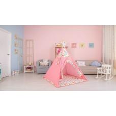 Палатка-вигвам детская Polini kids Жираф, розовый