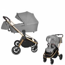 Детская коляска 2 в 1 CARRELLO Epica CRL-8510 Silver Grey