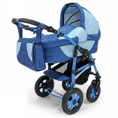Коляска SERENADE PCO 2 в 1 (BartPlast) 01 Синий-голубой