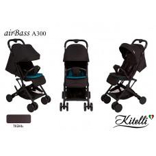 Коляска прогулочная Kitelli airBass А300 черный