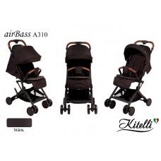 Коляска прогулочная Kitelli airBass А310 коричневый