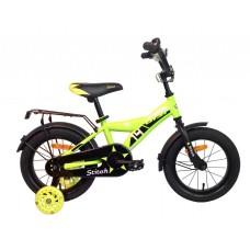 Велосипед детск. Aist Stitch 14 (желтый)