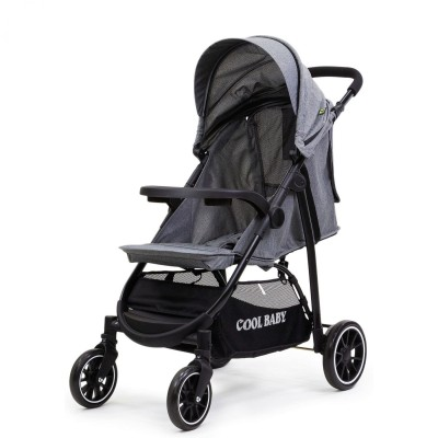 Коляска прогулочная Cool Baby 8703 (GREY)