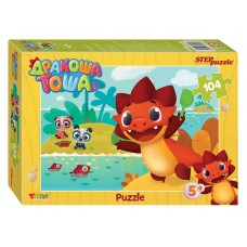 Мозаика puzzle 104 Дракоша Тоша