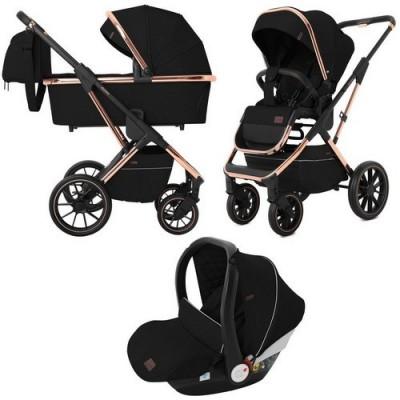 Детская коляска 3 в 1 CARRELLO Aurora CRL-6502 Space Black