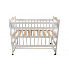 Кроватка Briciola 1 колесо-качалка авт.слоновая кость