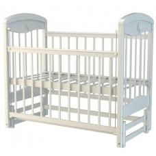 Кроватка Briciola 2 маятн.прод. авт. белая BR0201