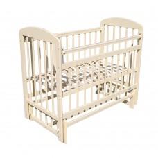 Кровать детская 09 маятник универсальный с накладкой Слоновая.кость