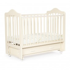 Детская кровать BEBIZARO FILLMORE Маятник универсальный с ящиком VANILLA BZFEMYA/02/VA
