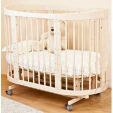 Кроватка-трансформер 8 в 1 Паулина-2 С-422, слоновая кость