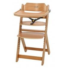 Стульчик для кормления Safety 1st Timba with Tray (без мягкого вкладыша) цвет (Natural Wood)