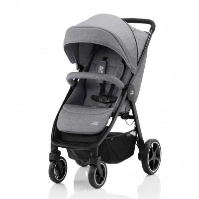 Детская коляска B-Agile M Elephant Grey
