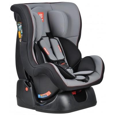 Автокресло детское Farfello GE-B серо+чёрный (grey+black)