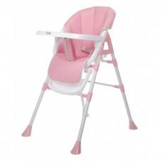 Стул детский для кормления COSTA Bona розовый/pink N-007
