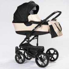 Детская коляска 2 в 1 BEBIZARO CROSS CREAM BZCR/01