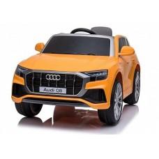 Электромобиль Audi Q8 JJ2066 оранжевый