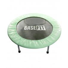 Батут BaseFit TR-101 91 см, зеленый (мятный)