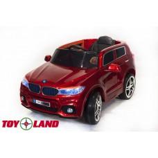 Электромобиль BMW X5 красный