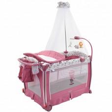 Детская кровать-манеж Nuovita Fortezza Mauve/Сиреневый