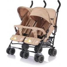 Baby Care, Коляска для двойни City Twin (трость) (Хаки (Khaki))
