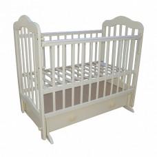 Кровать детская 03 маятник универс маят с ящиком с накладкой слоновая кость
