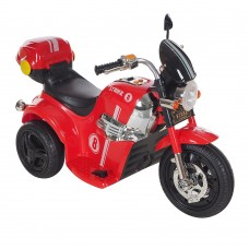 PITUSO Электро-Мотоцикл MD-1188, 6V/4Ah*1, колеса пластик 90х43х54 см, Red / Красно-Черный