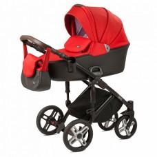 Детская коляска Nuovita Carro Sport 2 в 1 Rosso nero/Красно-черный