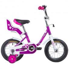 """Велосипед NOVATRACK 12"""", MAPLE, цвет: сиреневый"""
