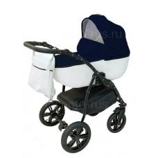 Детская коляска INCANTO ALBA цвет снег L синий (3)