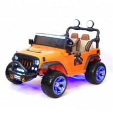 Детский электромобиль A004AA оранжевый
