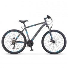 "Велосипед 26"" STELS Navigator-640 D (19"" Серый/синий) (LU091518)"