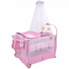 Детская кровать-манеж Nuovita Fortezza Rosa/Розовый