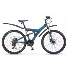"""Велосипед Focus MD 26"""" 21-sp V010 (18"""" Чёрный/синий) (LU088523)"""