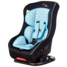 Автокресло Liko Baby LB-302 B, черный/голубой
