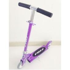 100FOXX.VT6,Самокат городской Foxx PU колеса 100мм,ABEC-5,фиолетовый