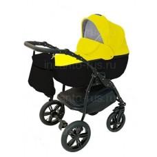 Детская коляска INCANTO ALBA цвет черный желтый (5)