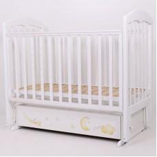 """Кровать детская 120*60 """"Олененок"""" (арт.64) (белый+принт)"""