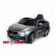 Электромобиль BMW 6 GT JJ2164 серебро