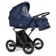 Детская коляска-люлька BEBIZARO CLASSIC BLUE BZCC/04