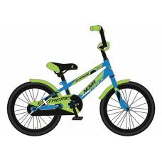 """Велосипед NOVATRACK 16"""", EXTREME, цвет: синий"""