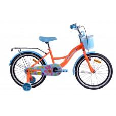 Велосипед детск. Aist Lilo 16 (оранжевый)