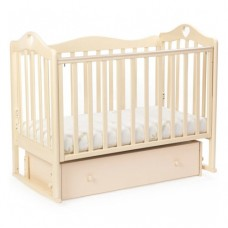 Детская кровать BEBIZARO JAMESON «HEART» Маятник универсальный с ящиком VANILLA