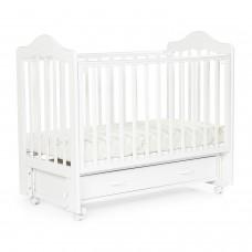 Детская кровать BEBIZARO FILLMORE Маятник универсальный с ящиком WHITE BZFEMYA/01/WH