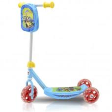 "Самокат Disney ""Микки и Весёлые гонки"" (3 колеса ПВХ 140/120 мм, 56х35х64 см, сталь/пласт., до 20 кг"