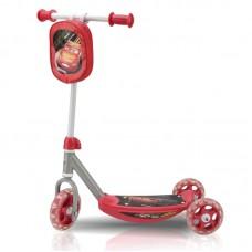 "Самокат Disney/Pixar ""Тачки"" (3 колеса ПВХ 140/120 мм, 56х35х64 см, сталь/пласт., до 20 кг, сумочка)"