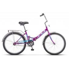 """Велосипед 24"""" STELS Pilot-710 16"""" Малиновый арт.Z010 (LU085350)"""