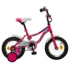 """Велосипед NOVATRACK 12"""", NEPTUNE розовый, защита А-тип, 123NEPTUN.PN5"""