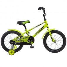 """Велосипед NOVATRACK 16"""", EXTREME, цвет: салатовый"""