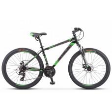 """Велосипед 26"""" STELS Navigator-500 MD (20"""" Чёрный/зелёный) F010"""